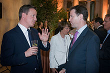 Mr Cameron undoubtedly enjoys being in coalition with Nick Clegg